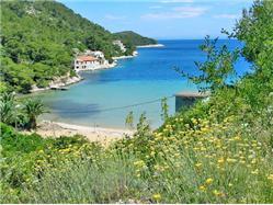 Stončica Marinje Zemlje - ostrov Vis Plaža