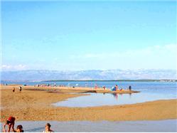 Ninska Laguna Dinjiska - ostrov Pag Plaža