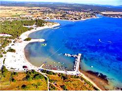 Zaton Slatina - wyspa Vir Plaža