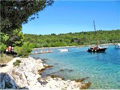 Sabuša Nevidane - island Pasman Plaža