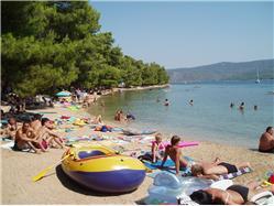 Soline Vrboska - ostrov Hvar Plaža