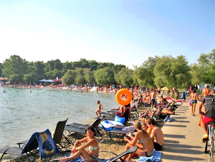 Plava-plaza-Vodice-Dalmatia-Croatia