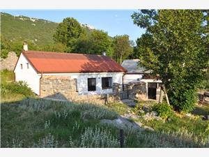 Huis Sandra De Crikvenica Riviera en Rijeka, Stenen huize, Afgelegen huis, Kwadratuur 100,00 m2