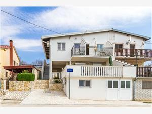Apartmány Anka Maslenica (Zadar), Rozloha 50,00 m2, Vzdušná vzdialenosť od mora 200 m, Vzdušná vzdialenosť od centra miesta 300 m