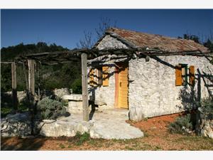 Huis Kadulja Schiereiland Peljesac, Stenen huize, Afgelegen huis, Kwadratuur 35,00 m2