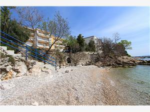 Ferienwohnung Lola Crikvenica, Größe 56,00 m2, Luftlinie bis zum Meer 15 m