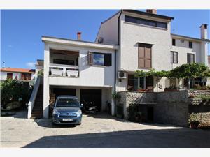Appartements Orlić Miljenka Punat - île de Krk, Superficie 45,00 m2, Distance (vol d'oiseau) jusqu'au centre ville 100 m