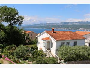 Апартаменты Morozin Silo - ostrov Krk, квадратура 40,00 m2, Воздух расстояние до центра города 300 m