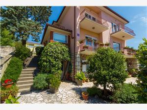 Apartman Diana D. Novi Vinodolski (Crikvenica), Kvadratura 100,00 m2, Zračna udaljenost od centra mjesta 150 m
