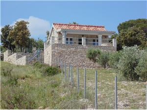 Huis DOMINA Postira - eiland Brac, Stenen huize, Afgelegen huis, Kwadratuur 25,00 m2