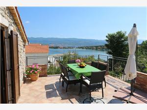 Апартаменты Ervin Silo - ostrov Krk, Каменные дома, квадратура 85,00 m2, Воздуха удалённость от моря 200 m