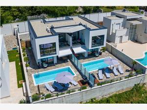 вилла DEANO Grižane, квадратура 140,00 m2, размещение с бассейном