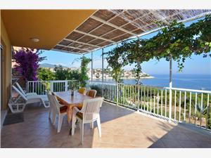 Haus Julije Die Inseln von Süddalmatien, Größe 120,00 m2, Luftlinie bis zum Meer 50 m, Entfernung vom Ortszentrum (Luftlinie) 500 m