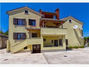 Apartmány Arsen Kvarnerské ostrovy, Rozloha 33,00 m2, Vzdušná vzdialenosť od mora 120 m, Vzdušná vzdialenosť od centra miesta 500 m