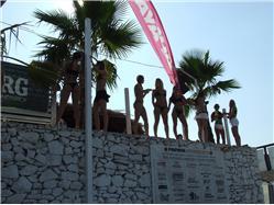 Zrće Mandre - ostrov Pag Plaža