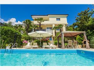 Apartmány Tanja Opatija, Prostor 90,00 m2, Soukromé ubytování s bazénem