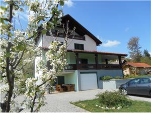 Appartementen en Kamer Robert Continentaal Kroatië, Kwadratuur 70,00 m2