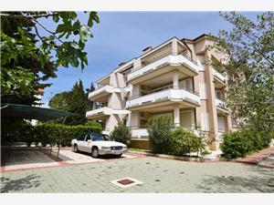Apartament Bernardo Novalja - wyspa Pag, Powierzchnia 104,00 m2, Odległość do morze mierzona drogą powietrzną wynosi 100 m, Odległość od centrum miasta, przez powietrze jest mierzona 700 m
