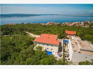 Vakantie huizen De Crikvenica Riviera en Rijeka,Reserveren GIANNY Vanaf 459 €