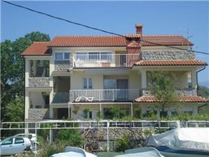 Apartamenty Ana Lopar - wyspa Rab, Powierzchnia 70,00 m2, Odległość od centrum miasta, przez powietrze jest mierzona 150 m