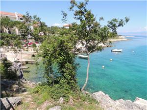 Location en bord de mer Hlebec Čižići -  île de Krk,Réservez Location en bord de mer Hlebec De 109 €