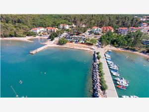 Appartementen Sucic Iva i Tea Soline - eiland Krk, Kwadratuur 67,00 m2, Lucht afstand tot de zee 40 m