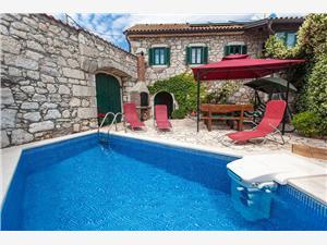 Villa HEDONIA Grižane, Größe 95,00 m2, Privatunterkunft mit Pool