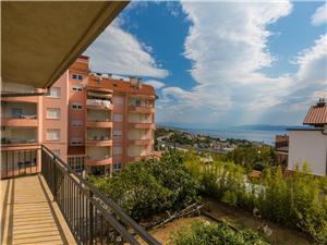 Apartament DARINKA 2 Crikvenica, Powierzchnia 95,00 m2, Odległość od centrum miasta, przez powietrze jest mierzona 600 m