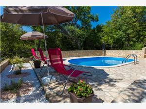 Apartmán VILLA GOME Grižane, Prostor 72,00 m2, Soukromé ubytování s bazénem