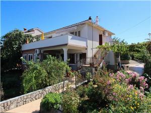 Appartementen Dragica C. Silo - eiland Krk, Kwadratuur 50,00 m2, Lucht afstand naar het centrum 250 m