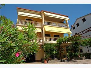 Апартамент NEVELINA Selce (Crikvenica), квадратура 50,00 m2, Воздух расстояние до центра города 350 m