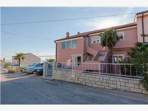 Апартаменты LUCIJA Benici (Crikvenica), квадратура 80,00 m2, Воздух расстояние до центра города 550 m