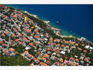 Lägenheter Maro Dramalj (Crikvenica), Storlek 45,00 m2, Luftavstånd till havet 100 m