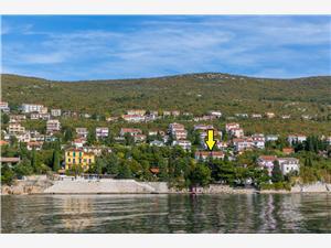 Lägenhet VILLA BIANCA Crikvenica, Storlek 60,00 m2, Luftavstånd till havet 30 m