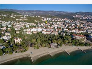 Appartamento Eugen Crikvenica, Dimensioni 83,00 m2, Distanza aerea dal centro città 700 m