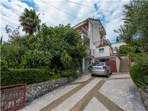 Апартамент Mia Crikvenica, квадратура 70,00 m2, Воздуха удалённость от моря 280 m, Воздух расстояние до центра города 800 m