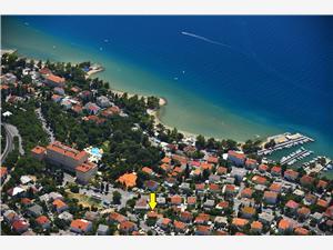 Lägenheter Jasna Crikvenica, Storlek 22,00 m2, Privat boende med pool, Luftavstånd till havet 200 m