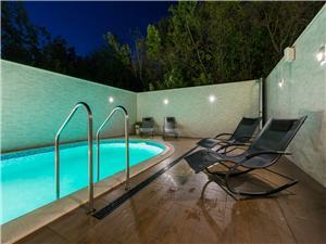 Apartmaji Alin Dramalj (Crikvenica), Kvadratura 28,00 m2, Namestitev z bazenom