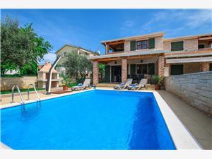 Villa Mare Tar (Porec), Méret 166,00 m2, Szállás medencével