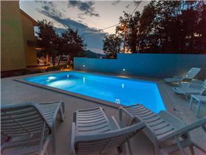 Accommodation with pool Rijeka and Crikvenica riviera,Book KARLITA From 200 €