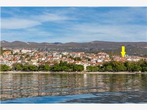Appartementen JASMINA Crikvenica, Kwadratuur 39,00 m2, Lucht afstand naar het centrum 350 m