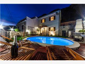 Villa VILA LJILJA Grižane, Kwadratuur 67,00 m2, Accommodatie met zwembad