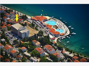 Apartmány STELLA Selce (Crikvenica), Prostor 35,00 m2, Vzdušní vzdálenost od moře 50 m, Vzdušní vzdálenost od centra místa 200 m