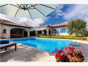 вилла Korina Malinska - ostrov Krk, Каменные дома, квадратура 146,00 m2, размещение с бассейном