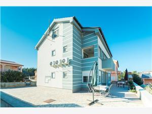 Lägenheter Pavlović Vir - ön Vir, Storlek 38,00 m2, Luftavstånd till havet 50 m