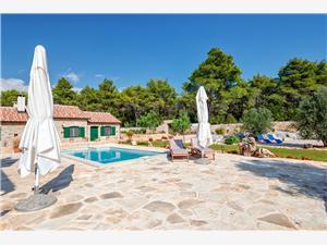 вилла Miranda Hvar Stari Grad - ostrov Hvar, квадратура 350,00 m2, размещение с бассейном