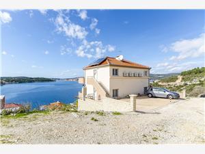 Apartmanok Smiljana Horvátország, Méret 80,00 m2, Légvonalbeli távolság 50 m