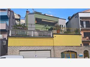 Апартамент Rada Sibenik, квадратура 65,00 m2, Воздух расстояние до центра города 700 m