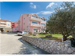 Appartements Krunoslav Punat - île de Krk, Superficie 50,00 m2, Distance (vol d'oiseau) jusqu'au centre ville 200 m