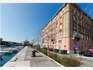 Апартамент Srecko Rijeka, квадратура 60,00 m2, Воздух расстояние до центра города 50 m